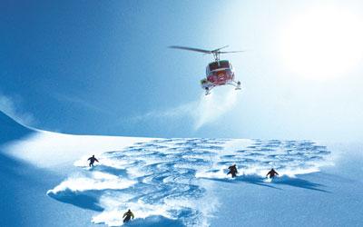 sciare in canada