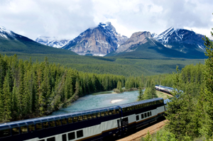 viaggio in treno Canada