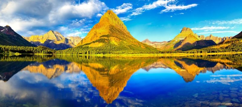 glacier national park dual monitor 2560x10241 800x353 - Canada e USA, tour Grandi Parchi | Le Rockies e Yellowstone