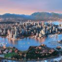 Aerial Sunset Vancouver 127x126 - Beautiful Vancouver